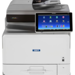 MP C307 Color Laser Multifunction Printer Accelerate workgroup productivity and lower costs