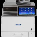 MP C407 Color Laser Multifunction Printer Transform workgroups for more efficient success