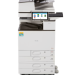 MP C3004ex TE for Education Color Laser Multifunction Printer Secure compelling color and campus convenience