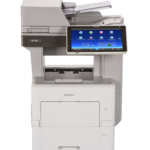 MP 501SPF Black and White Laser Multifunction Printer Expand capabilities in a limited space