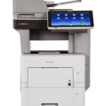 MP 601SPF Black and White Laser Multifunction Printer Extend productivity in any location