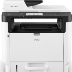 SP 330SFN Black and White Laser Multifunction Printer Add versatility to make your price point